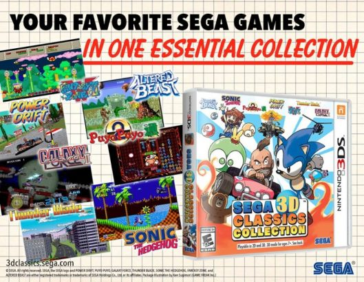 بازی Sega 3D Classics Collection عرضه شد