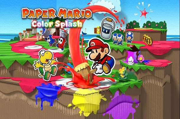 بازی Paper Mario: Color Splash