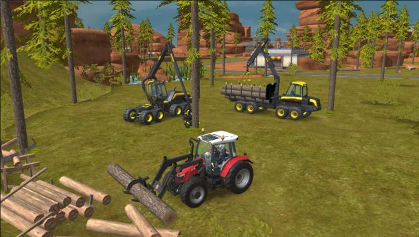 بازی Farming Simulator 18
