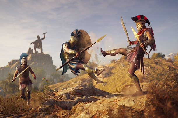 حجم بازی Assassin's Creed Odyssey مشخص شد