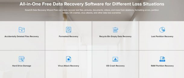 نرم افزار EaseUS Data Recovery
