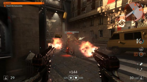بازی Wolfenstein: Youngblood
